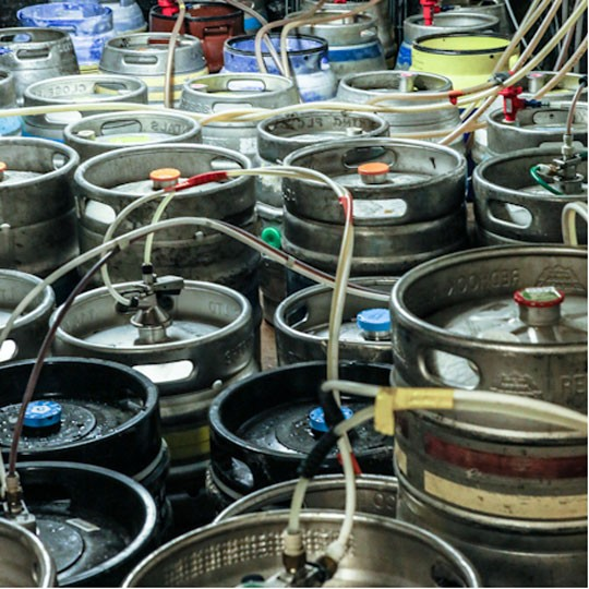 Chequers kegs